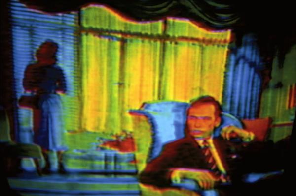 Harry Gruyaert - TV Shots, Movie 1972