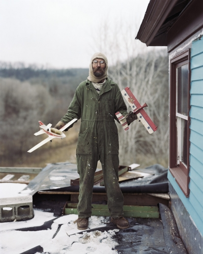Alec Soth - Charles, Vasa, Minnesota 2002 (Sleeping by the Mississipi)