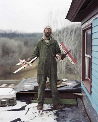 Alec Soth - Charles, Vasa, Minnesota 2002 (Sleeping by the Mississipi)