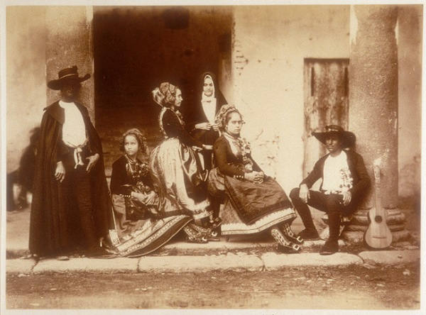 Charles Clifford - Tipos locales, España, 1858