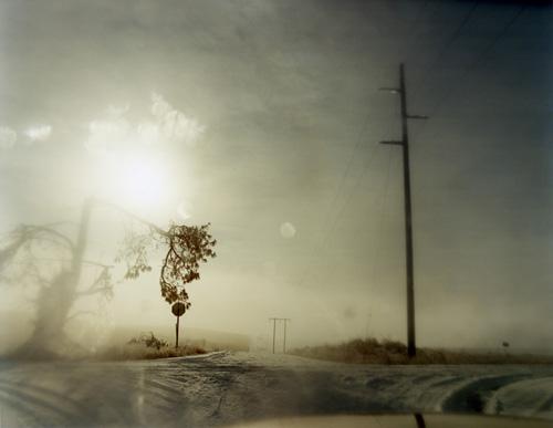 Todd Hido - 6097 (A Road Divided, 2008)