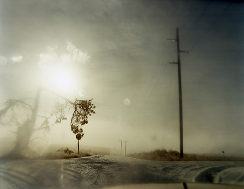 Todd Hido - 6097 (A Road Divided, 2008)