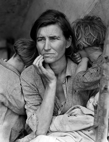 Dorothea Lange - Florence Owens Thompson, 1936