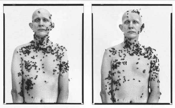 Richard Avedon - Bee Man (In the American West, 1981)