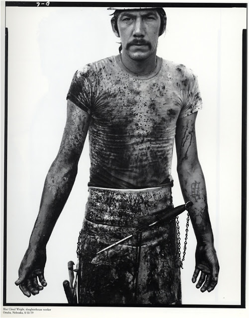Richard Avedon - Blue Cloud Wright, 1979