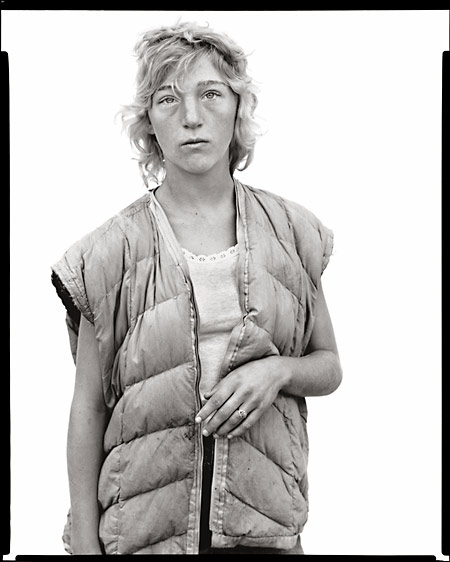 Richard Avedon - Debbie McClendon, 1981 (In the American West)