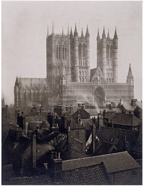 Frederick H. Evans - Catedral de Lincoln, 1898