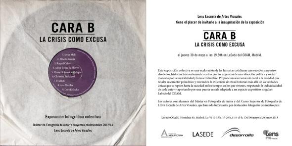 Exposición Colectiva Cara B: La Crisis como Excusa