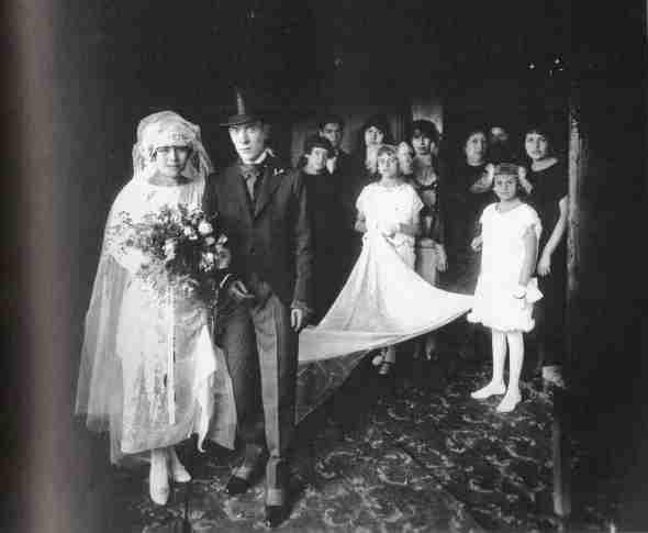 Martin Chambi - La boda de los Gardea, Peru, 1930