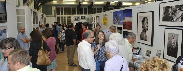 Feria Entrefotos - La lonja de la Casa del Reloj (Madrid)