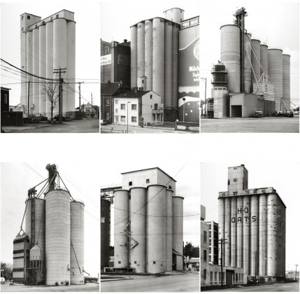 Bernd y Hilla Becher: Grain Silos, 1998