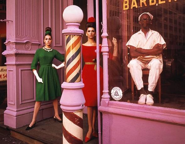 Barbershop, New York 1961 - William Klein