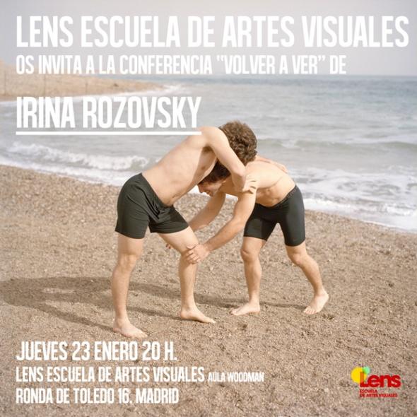 Encuentro con Irina Rozovsky en Madrid