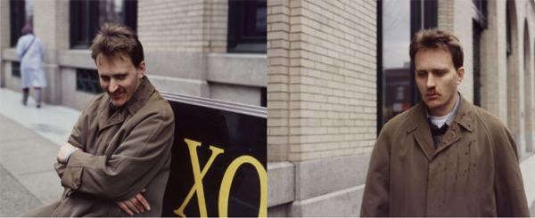 Jeff Wall: Man in the Street, 1995