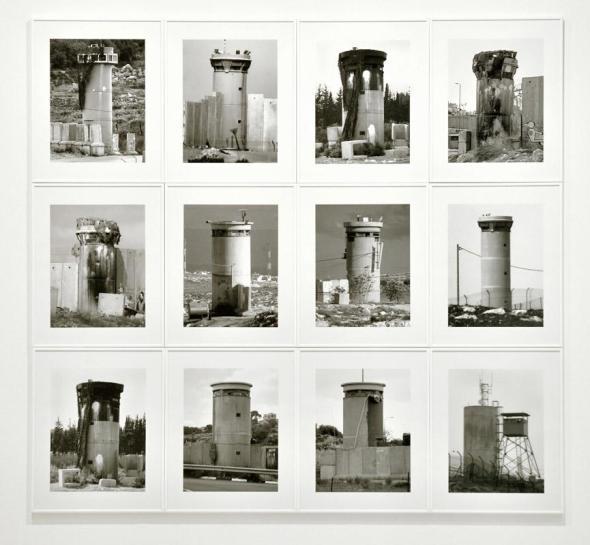 Taysir Batniji - Watchtowers, 2008