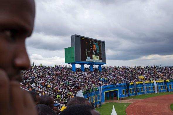 Intervención de Ban Ki-Moon en el estadio Amahoro, Kigali, 7 de abril de 2014 - Antonio Pérez Río