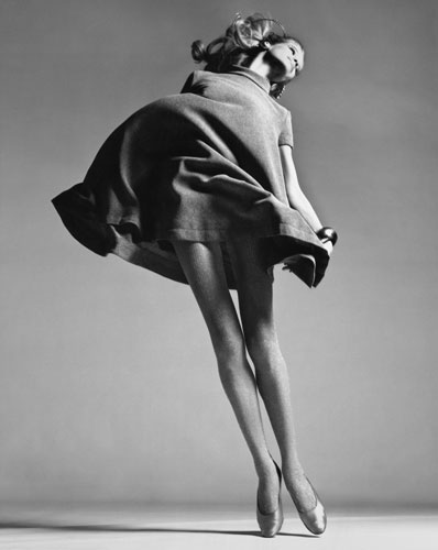 Richard Avedon, Verushka, dress by Bill Blass, New York, January 4, 1967 © The Richard Avedon Foundation