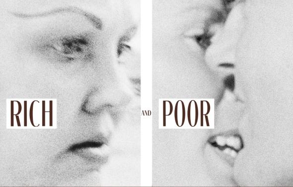 Jim Goldberg - Rich and Poor (reeditado por Steidl, 2014)