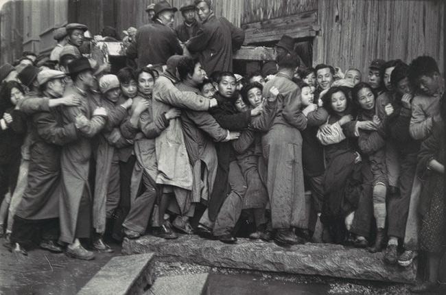Henri Cartier-Bresson - Shanghai, 1948
