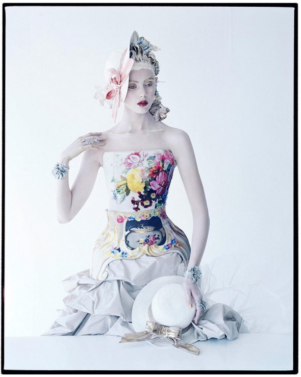 Tim Walker - Frida Gustavsson, American Vogue, 2012