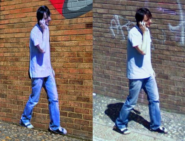Paolo Cirio - Street Ghost. Ebor Street, London - Link Street View from 2008