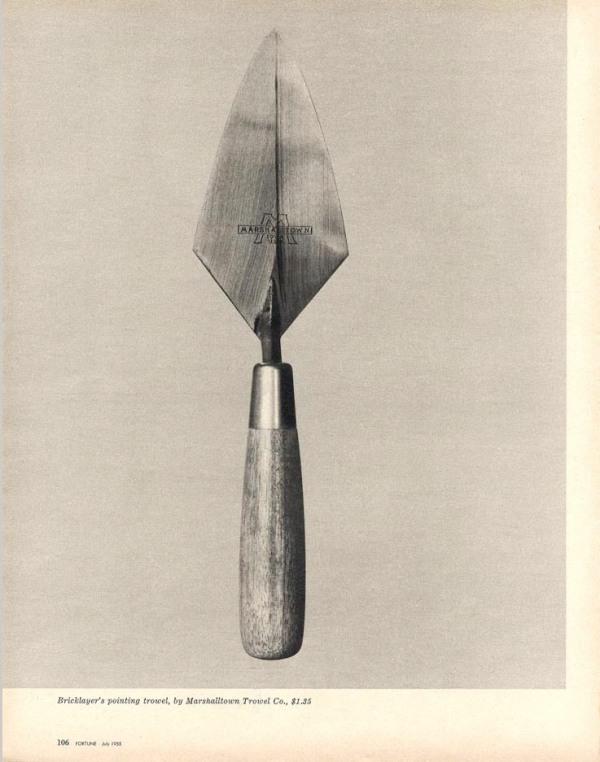 Walker Evans - Beauties of the common tool - Revista Fortune, 1955