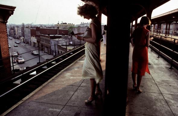 Bruce Davidson - New York, 1980 - Subway.
