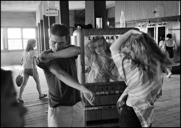 Bruce Davidson - Coney Island, NY, 1959. Brooklyn Gang.
