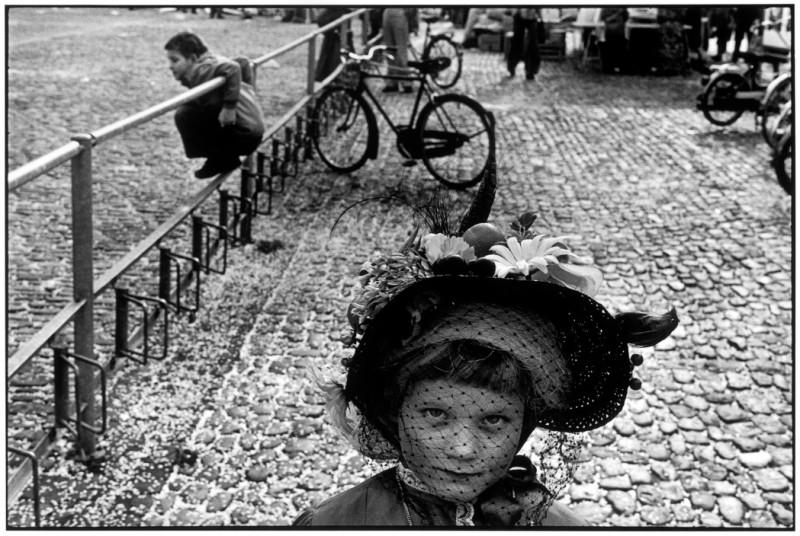 Martine Franck - Basel. Carnival. 1977.