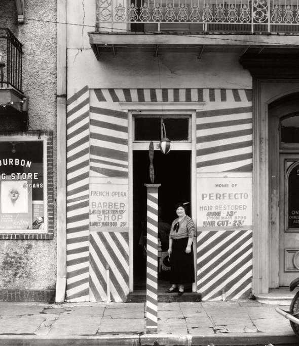 Walker Evans - Sidewalk and Shopfront, New Orleans, 1935. American Photographs